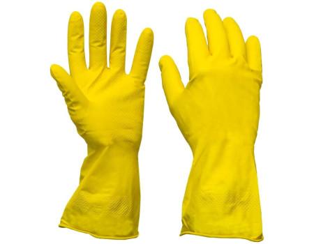 Перчатки резиновые плотные