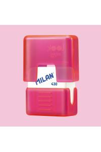 Ластик квадратный, в футляре, MILAN, PMMS430LK
