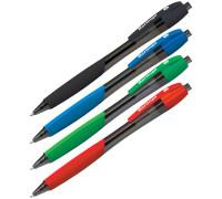 """Ручка шариковая автом. """"Triangle XL"""" синяя, 1,0мм,Berlingo трехгранный корпус, CBm_10662"""