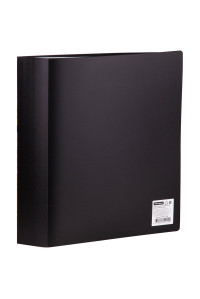Папка с 80 вкл.53мм, 800мкм, чёрная, OfficeSpace, F80L1_299
