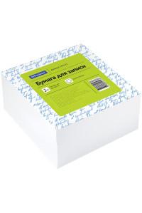 Блок для записи OfficeSpace, 9*9*4,5см, белый,153171