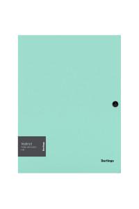 """Папка на кнопке Berlingo """"Instinct"""" А4, 600мкм, мятный, ANp_03520"""