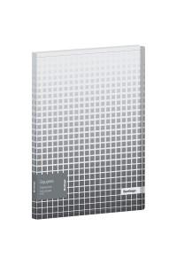 """Папка с 20 вкладышами Berlingo """"Squares"""", 17мм, 600мкм, с внутр. карманом, с рисунком, DB4_20051"""