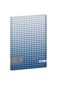 """Папка с 20 вкладышами Berlingo """"Squares"""", 17мм, 600мкм, с внутр. карманом, с рисунком, DB4_20052"""