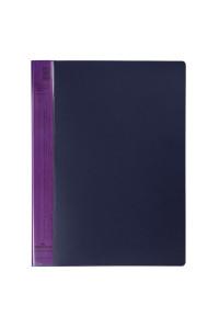 """Папка с 20 вкладышами Durable """"DuraLook Color"""", 17мм, 700мкм, антрацит-фиолетовая, RU2422-12"""