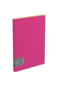 """Папка c пружинным скоросшивателем Berlingo """"Fuze"""", 17мм, 600мкм, розовая, AHp_00313"""