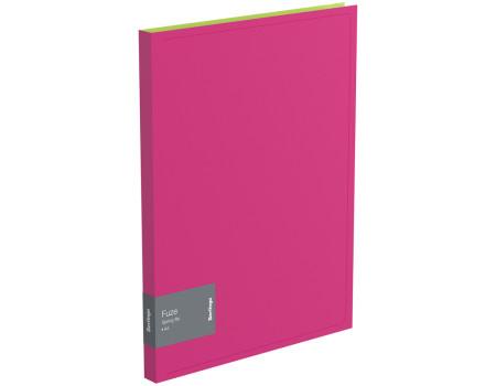 """Папка c пружинным скоросшивателем Berlingo """"Fuze"""", 17мм, 600мкм, розовая"""