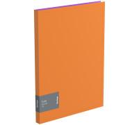 """Папка c пружинным скоросшивателем Berlingo """"Fuze"""", 17мм, 600мкм, оранжевая, AHp_00316"""