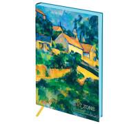 """Записная книжка А5 80л. ЛАЙТ, кожзам, Greenwich Line """"Vision. Cezanne. Turning Road"""", NA5b_30786"""