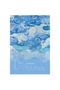 """Записная книжка А5 64л. BG """"Vincent"""", матовая ламинация, выб. лак, блок-еженедельник, ЗК5т64_лм_вл 8905"""
