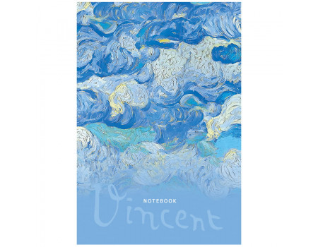 """Записная книжка А5 64л. BG """"Vincent"""", матовая ламинация, выб. лак, блок-еженедельник"""
