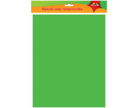 Фоамиран Апплика, 50*70см, зелёный, 0,7мм
