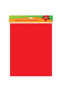 Фоамиран Апплика, 50*70см, красный, 0,7мм, С2926-03