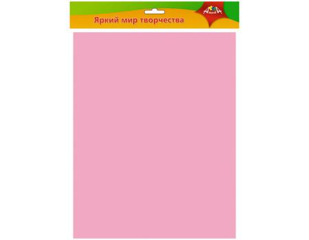 Фоамиран Апплика, 50*70см, розовый, 0,7мм