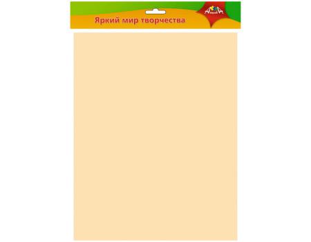 Фоамиран Апплика, 50*70см, персиковый, 0,7мм