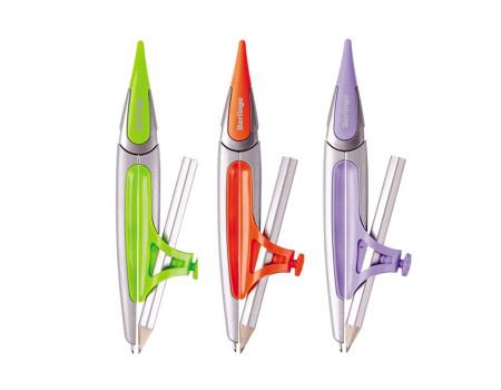"""Циркуль Berlingo """"Optimum+"""" металлический, с карандашом, 135мм, блистер"""