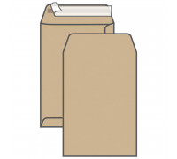 Пакет почтовый C4, UltraPac, 229*324мм, коричневый крафт, отр. лента, 90г/м2, 161150