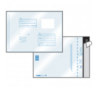 Пакет почтовый C5, UltraPac, 162*229мм, полиэтилен, отр. лента, 70мкм, 11002.10