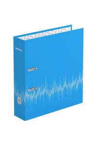 """Папка-регистратор Berlingo """"Neon"""", 70мм, ламинированная, неоновая голубая, AMl70801"""