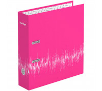 """Папка-регистратор Berlingo """"Neon"""", 70мм, ламинированная, неоновая розовая, AMl70813"""
