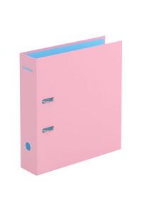 """Папка-регистратор Berlingo """"Haze"""", 80мм, матовая ламинированная, розовая, AMl80301"""