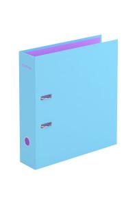 """Папка-регистратор Berlingo """"Haze"""", 80мм, матовая ламинированная, голубая, AMl80304"""