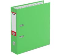 """Папка-регистратор Berlingo """"Hyper"""", 80мм, нижний метал. кант, крафт-бумага зеленая, ATk_80404"""