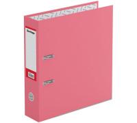 """Папка-регистратор Berlingo """"Hyper"""", 80мм, нижний метал. кант, крафт-бумага розовая, ATk_80412"""