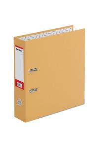 """Папка-регистратор Berlingo """"Hyper"""", 80мм, нижний метал. кант, крафт-бумага оранжевая, ATk_80416"""