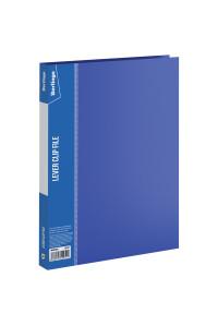 """Папка с зажимом Berlingo """"Standard"""", 17мм, 700мкм, синяя, MM2340"""