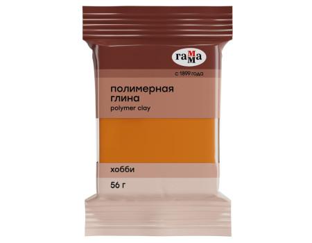 """Полимерная глина Гамма """"Хобби"""", оранжевый, 56г"""