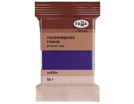 """Полимерная глина Гамма """"Хобби"""", фиолетовый, 56г"""