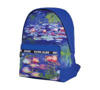 """Рюкзак Berlingo Art """"Водяные лилии"""" 40*29*16 см, 1 отделение, 1 карман, уплотненная спинка, RU05714"""