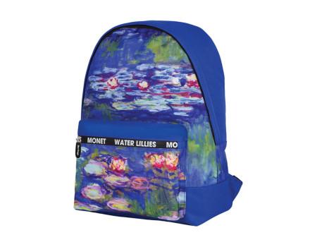"""Рюкзак Berlingo Art """"Водяные лилии"""" 40*29*16 см, 1 отделение, 1 карман, уплотненная спинка"""