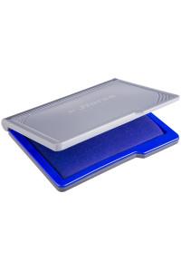 Штемпельная подушка Horse, 110*70мм, синяя, пластиковая, №2
