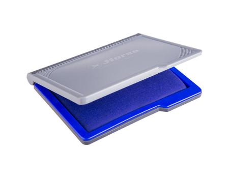Штемпельная подушка Horse, 110*70мм, синяя, пластиковая