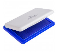 Штемпельная подушка Horse, 85*55мм, синяя, пластиковая, №3