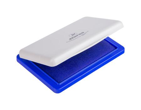 Штемпельная подушка Horse, 85*55мм, синяя, пластиковая