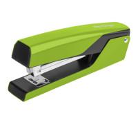 """Степлер №24/6, 26/6 Berlingo """"Color Zone"""" до 20л., металлический корпус, зелёный, DSn_20116"""