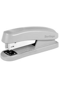 """Степлер №24/6, 26/6 Berlingo """"Universal"""" до 30л., пластиковый корпус, серый, H31002"""
