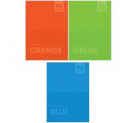 "Тетрадь 96л., А4, линия ArtSpace ""Моноколор. Яркие цвета"", Т96А4л_13761"