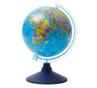 Глобус политический Globen, 21см, на круглой подставке,Ке012100177