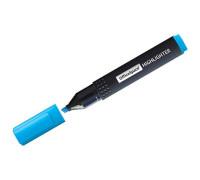 Текстовыделитель OfficeSpace голубой, 1-4мм , T7014