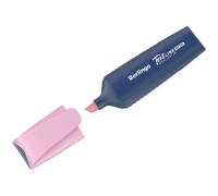 """Текстовыделитель Berlingo """"HP200"""", пастельный цвет, фламинго, 1-5мм, T5019"""
