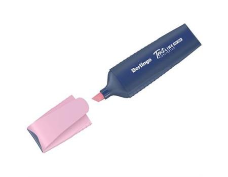"""Текстовыделитель Berlingo """"HP200"""", пастельный цвет, фламинго, 1-5мм"""