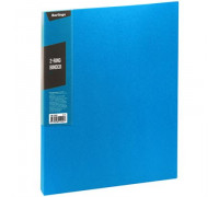 """Папка на 2 кольцах Berlingo """"Standard"""", 25мм, 700мкм, синяя, ABp_22102"""