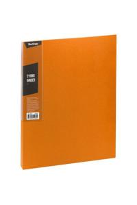 """Папка на 2 кольцах Berlingo """"Color Zone"""", 35мм, 600мкм, оранжевая, ABp_23616"""