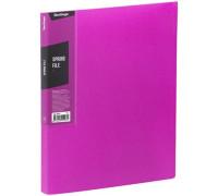 """Папка с пружинным скоросшивателем Berlingo """"Color Zone"""", 17мм, 600мкм, розовая, AHp_00613"""