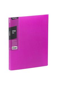 """116Папка с пружинным скоросшивателем Berlingo """"Color Zone"""", 17мм, 600мкм, розовая, AHp_00613"""