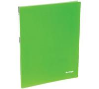 """Папка c пружинным скоросшивателем Berlingo """"Neon"""", 17мм, 700мкм, неоновая зелёная, AHp_00802"""